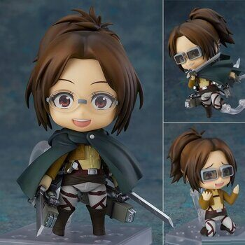 Фигурка нендороид Ханджи Зоэ Атака Титанов ОРИГИНАЛ / Figure nendoroid Attack on Titan Hange Zoe размер фигурки 10см