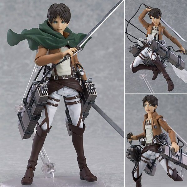 Фигурка фигма Эрен  Йегер Атака Титанов ОРИГИНАЛ / Figure figma Eren Yeager Attack on Titan, размер коробки 15см