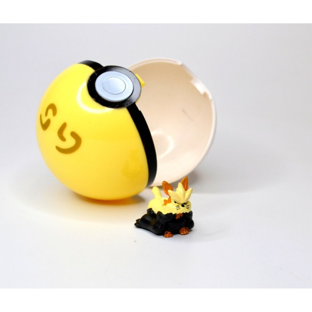 Фигурка Покемон с покеболом БУТЛЕГ вариант 1 / Figure Pokemon, размер фигурки 3см