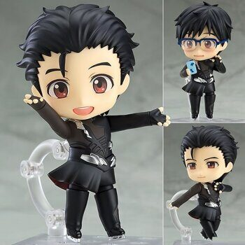Фигурка нендороид Юри Кацуки Юрий на Льду ОРИГИНАЛ / Figure Nendoroid Yuri Katsuki Yuri on ice, размер фигурки 10см