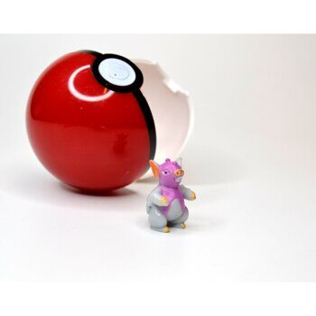 Фигурка Покемон с покеболом БУТЛЕГ вариант 3 / Figure Pokemon, размер фигурки 3см