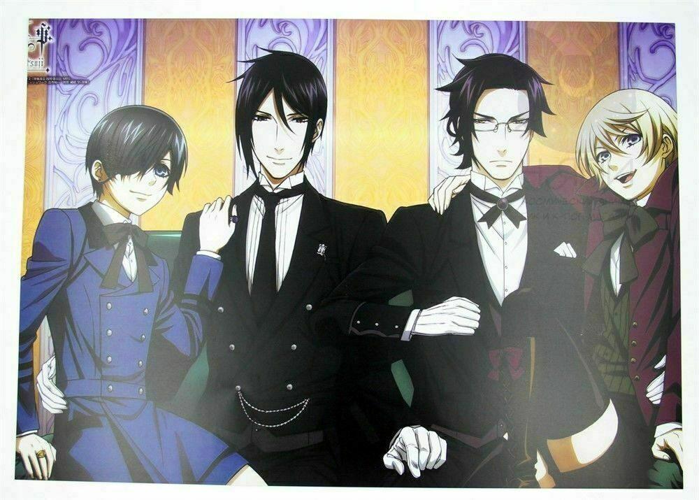 Аниме темный дворецкий постер