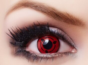Одна Линза по аниме Наруто Шаринган / Lenses Sharingan Naruto артикул LC2-0.0